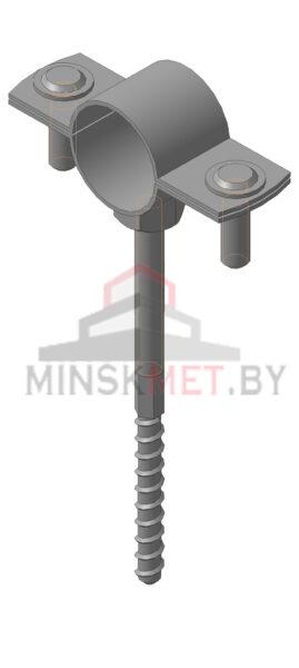 M026 Крепление молниеприемника к стене L=80-120мм